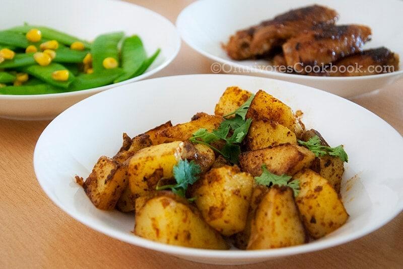 Sauteed Potato - Chinese Style