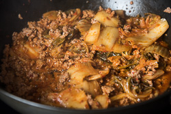 Easy Kimchi Fried Rice Cooking Process | omnivorescookbook.com