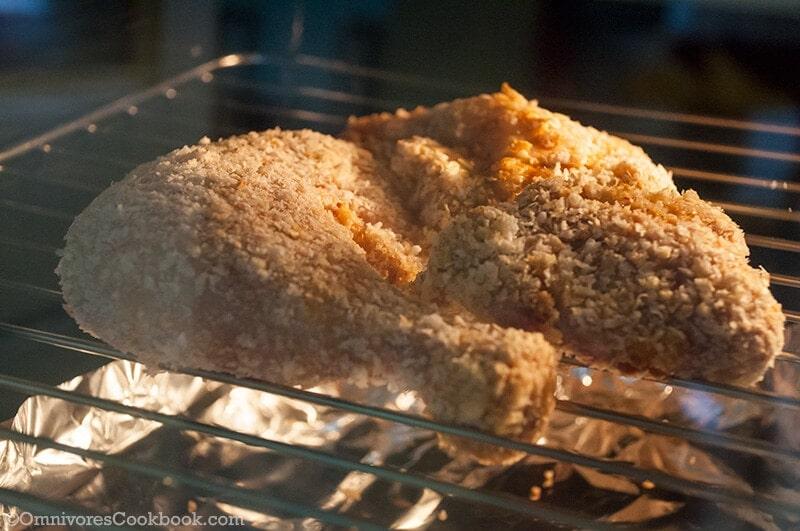 Baked Crispy Chicken Leg