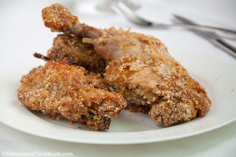Crispy Baked Chicken Leg | Omnivore's Cookbook