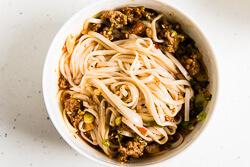 Dan Dan Noodles Cooking Process   omnivorescookbook.com