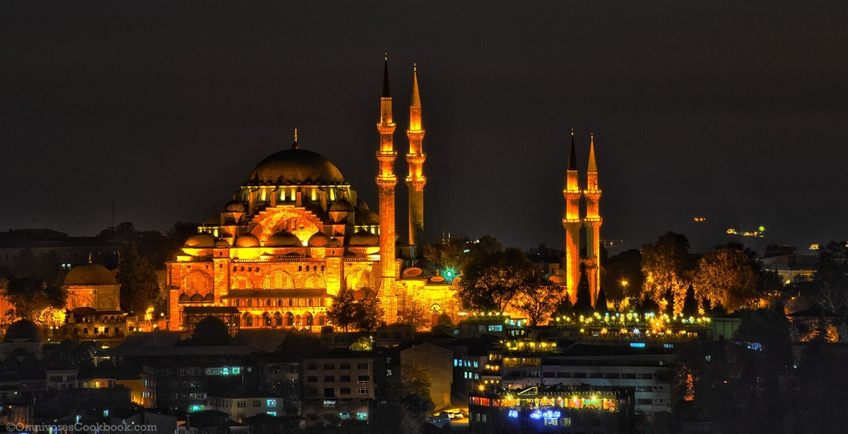 Mosque - adventure in Istanbul