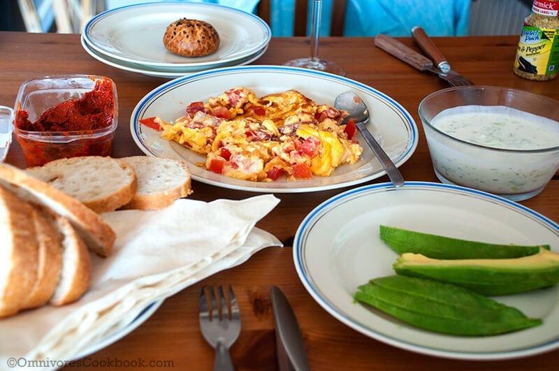 Homemade Breakfast - Turkish Breakfast