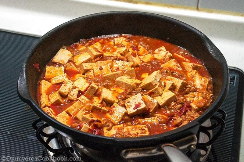 Authentic Mapo Tofu (麻婆豆腐)   Omnivore's Cookbook