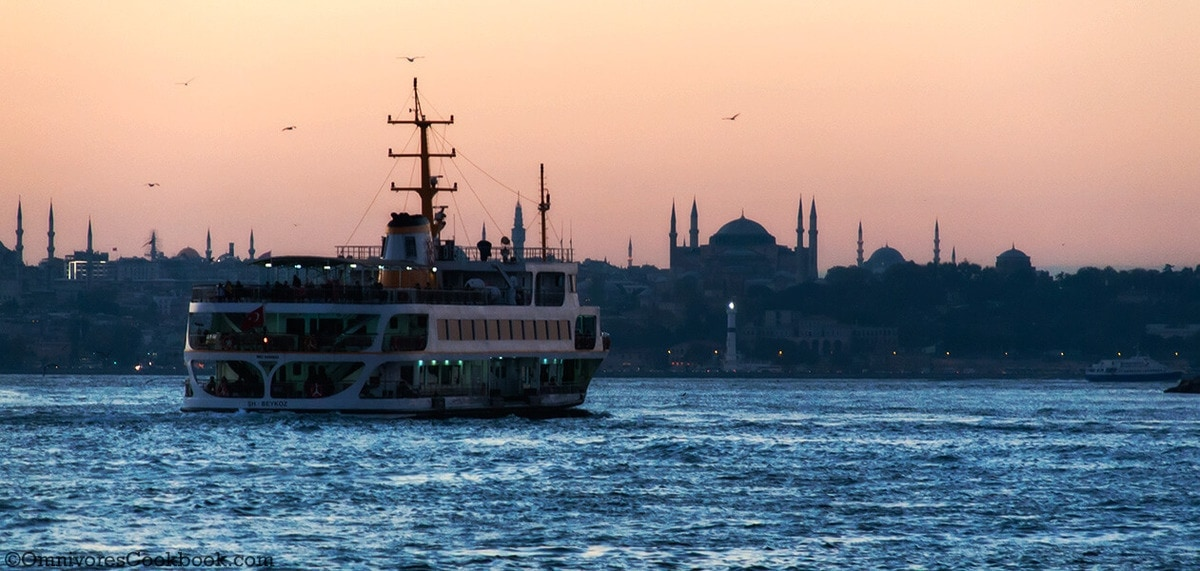 Sunset on Bosphorus - adventure in Istanbul