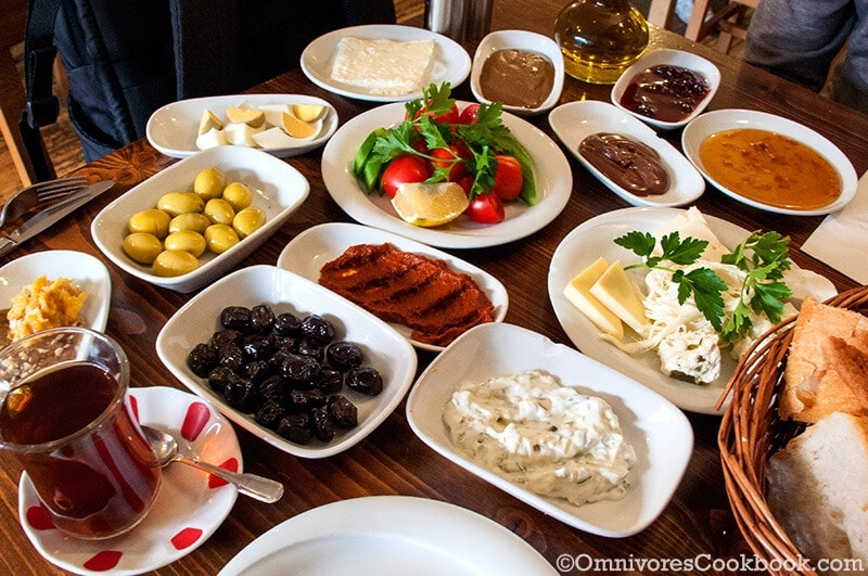 Whole Breakfast at Van Kahvaltı Evi- Turkish Breakfast