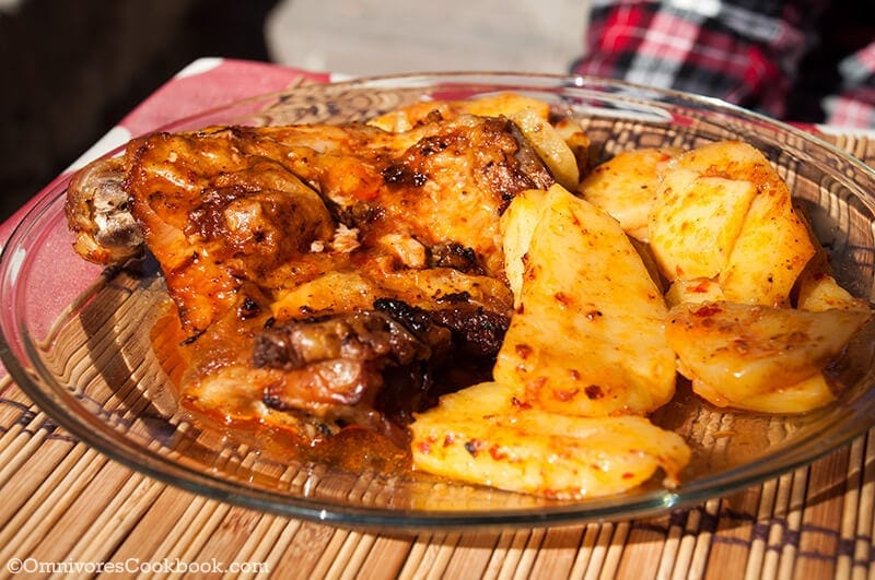 Garlic Chicken - Turkish Food