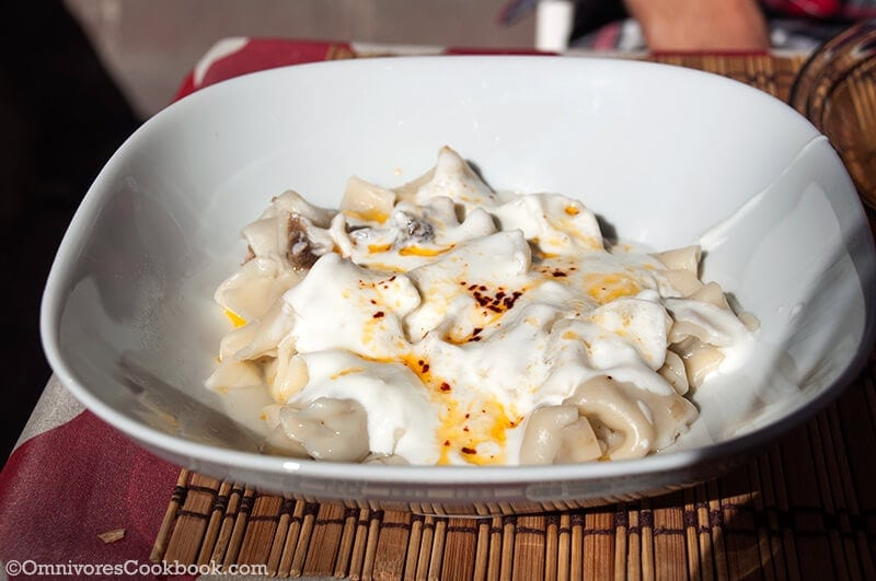 Manti - Turkish Food
