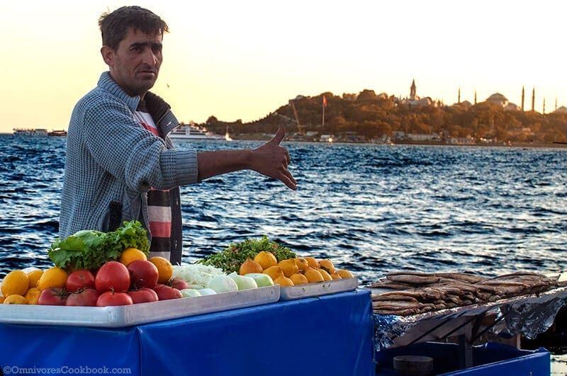 Fish Sandwich - Turkish Street Food