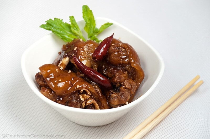 Hardcore Chinese Mom S Best Braised Pork Feet Omnivore S Cookbook