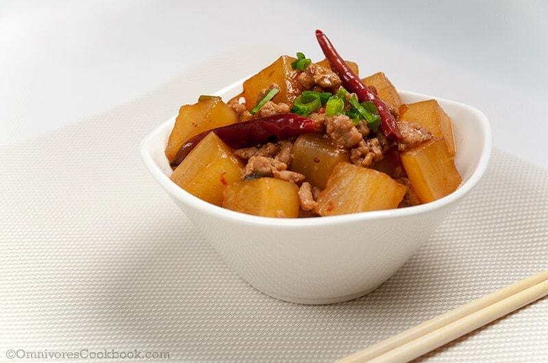 Chinese Braised Radish and Ground Pork | Omnivore's Cookbook