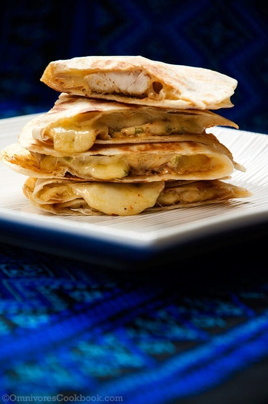 Taco Bell Chicken Quesadilla Omnivores Cookbook