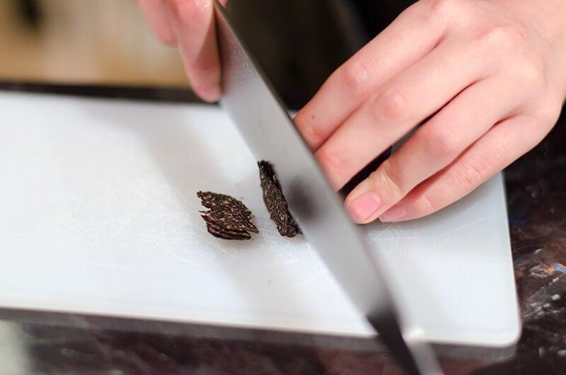 Fresh winter black truffle