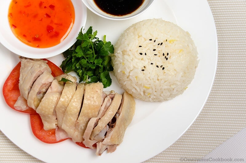 Hainanese Chicken Rice 3