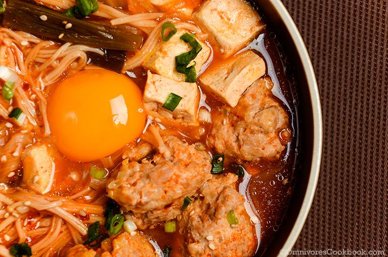 soupe kimchi kimchi kimchi jjigae kimchi stew korean soft tofu stew ...