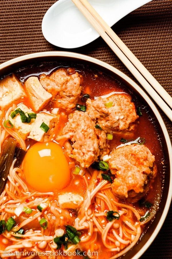 from the kimchi cookbook kimchi stew with chicken and tofu recipe ...