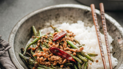 Here is how to cook the most flavorful green bean dish, and one that is substantial enough to serve as a main.