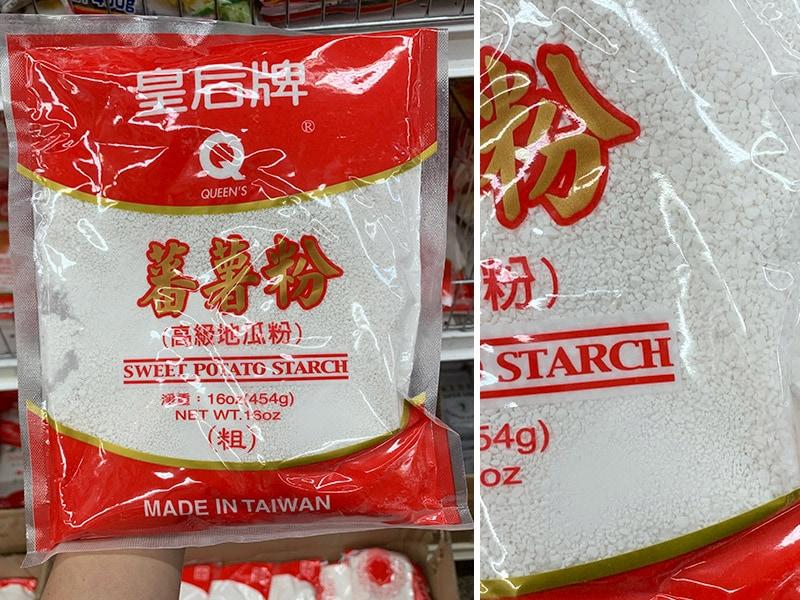 Chinese thick potato starch