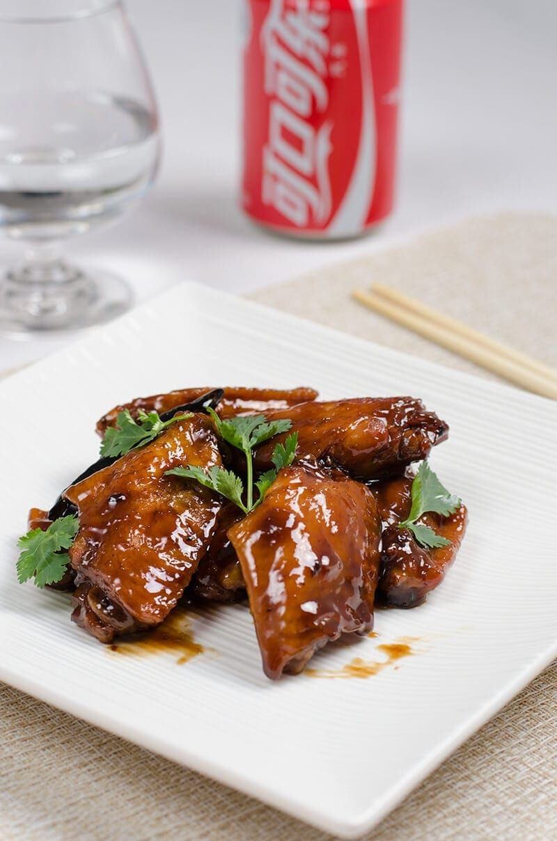 Braised Coca-Cola Chicken wings is one of the most popular dishes in ...