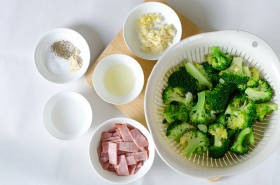 Broccoli Bacon Stir-Fry Ingredients | Omnivore's Cookbook