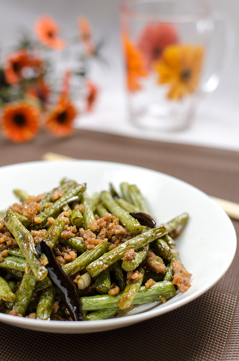 Chinese Dry-Fried Green Beans and Pork | Omnivore's Cookbook