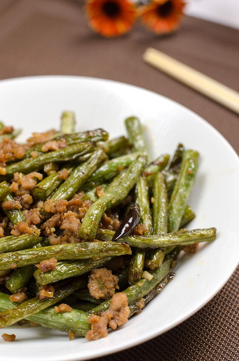 Szechuan Dry-Fried Green Beans (干煸豆角) | Omnivore's Cookbook