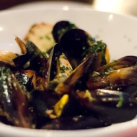 Dinner at Nando Milano Trattoria - mussels