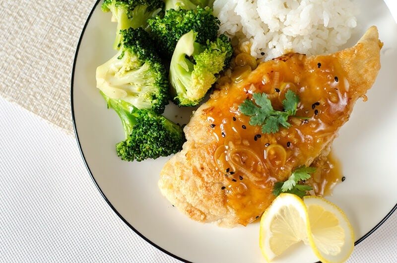 Healthy Lemon Chicken | Omnivore's Cookbook