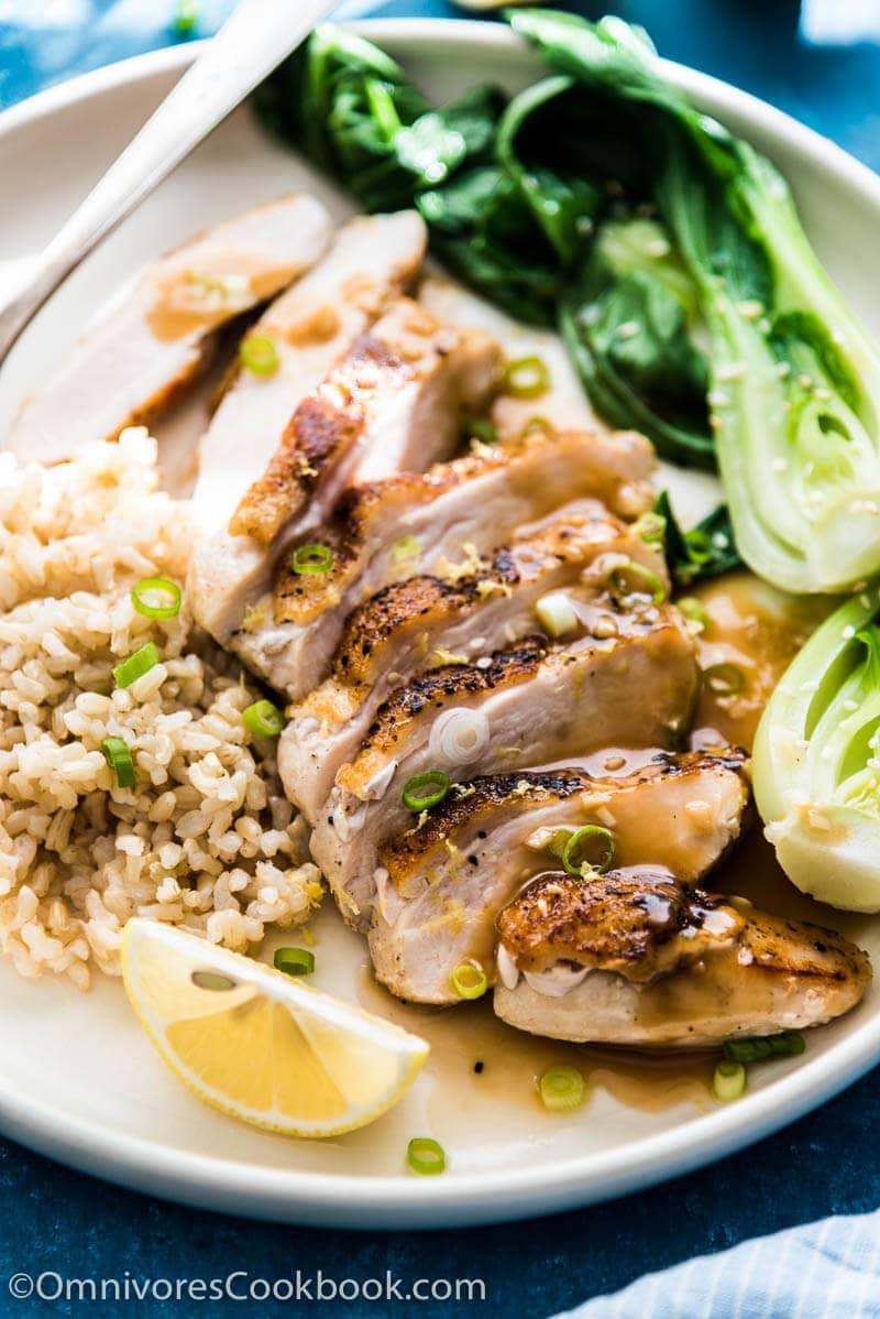Chinese chicken piccata omnivores cookbook a twist of classic chicken piccata based on chinese lemon chicken gluten free cooking forumfinder Images