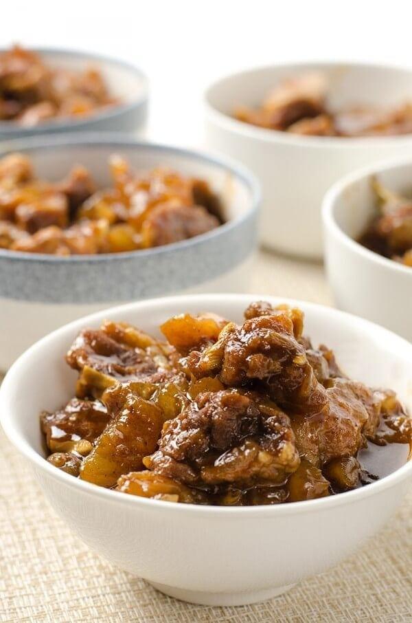 Mom's best beef stew with tendon   Omnivore's Cookbook