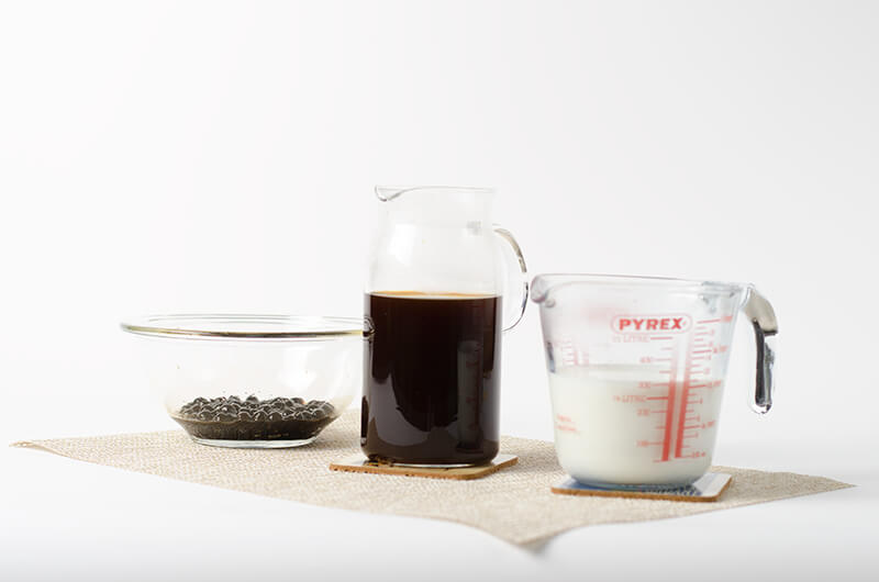 Bubble milk tea - Ingredients | Omnivore's Cookbook