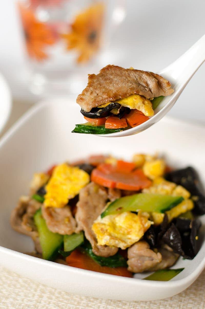 Moo Shu Pork (木须肉)   Omnivore's Cookbook