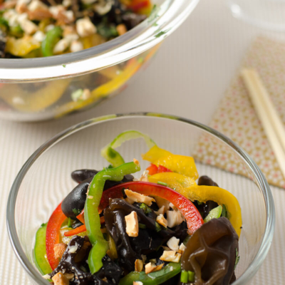 Spring Salad with Wood Ear   Omnivore's Cookbook