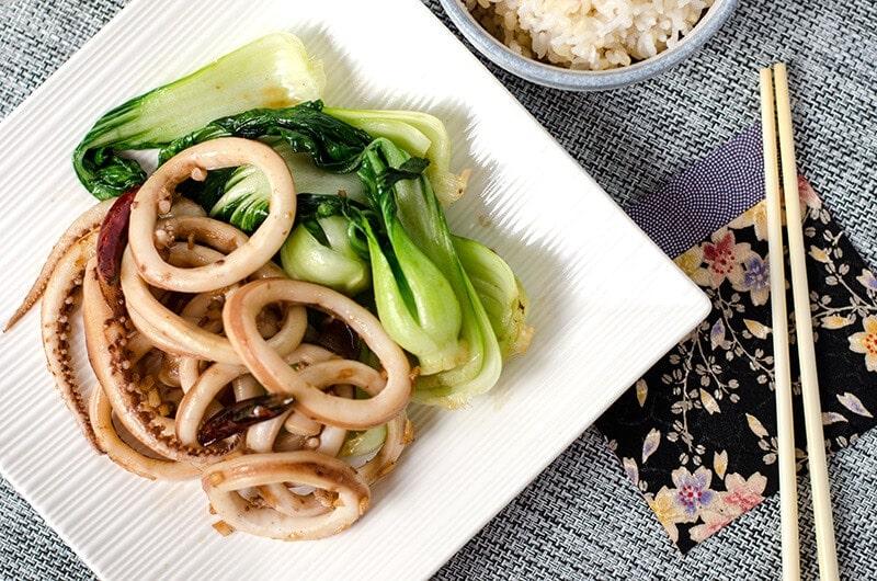 Chinese style Squid Stir Fry   Omnivore's Cookbook