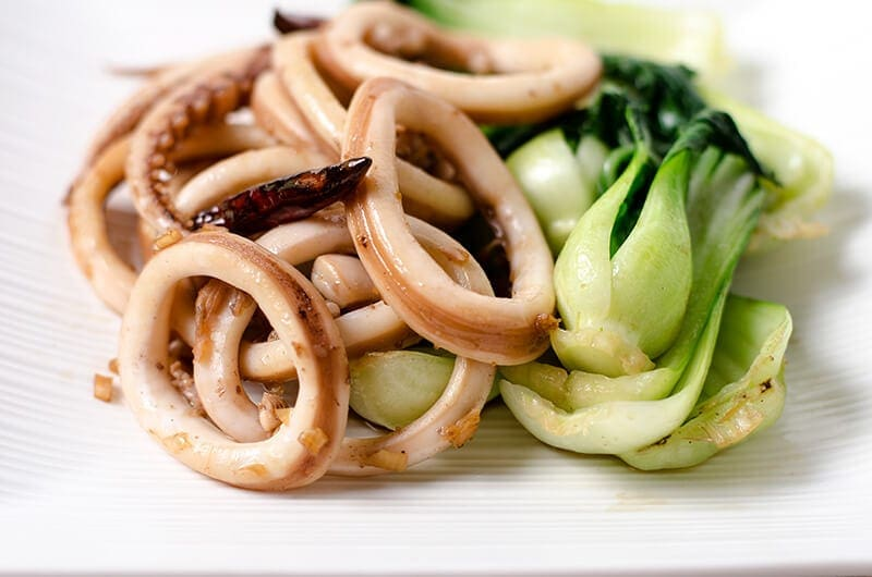 Chinese style Squid Stir Fry | Omnivore's Cookbook