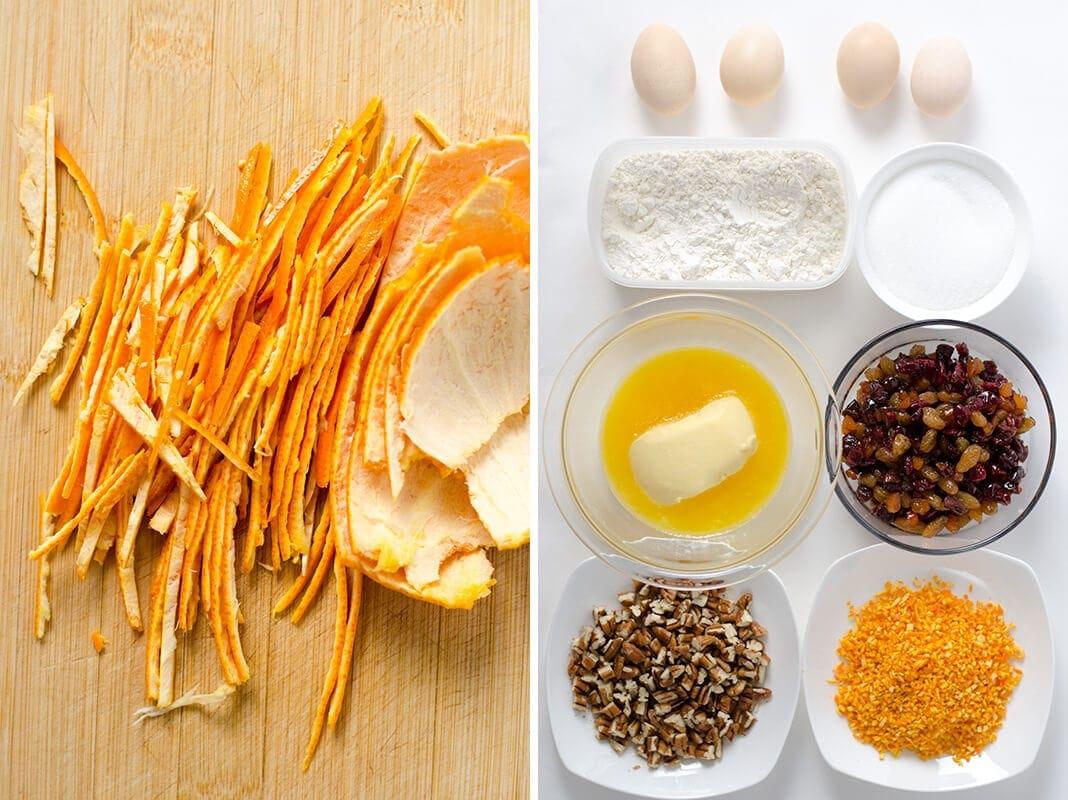 Family Favorite Fruit Cake Ingredients | Omnivore's Cookbook