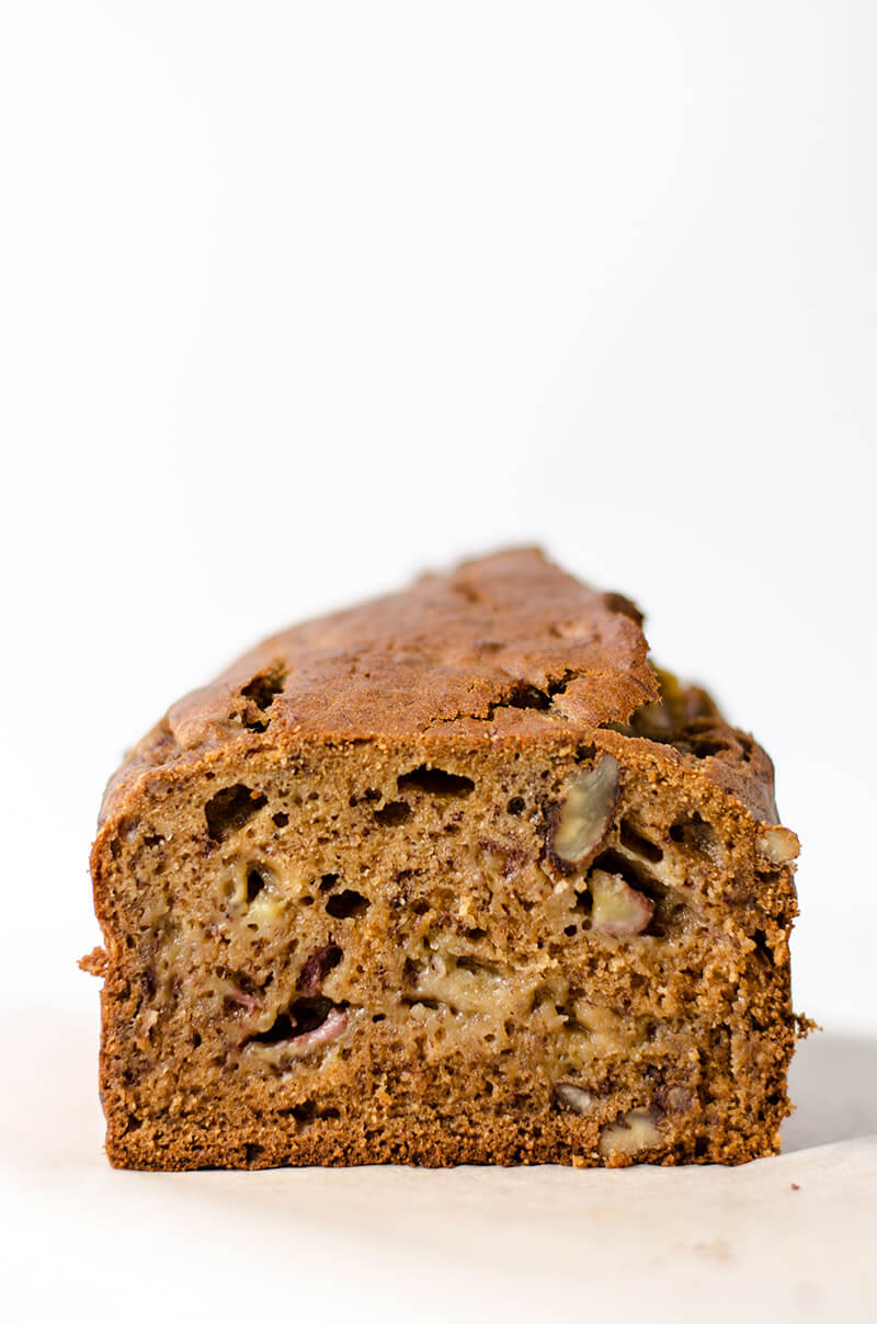 Low Sugar Banana Bread | Omnivore's Cookbook
