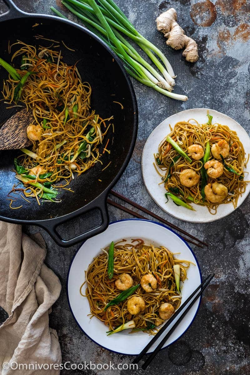 These fried noodles are loaded with vegetables, and burst with flavor. It's a quick and healthy one-pot meal you can prep and cook in 20 minutes.