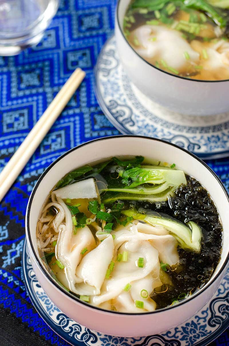 Wonton soup - 20 Chinese Recipes You Need to Try Out in 2015 | Omnivore's Cookbook