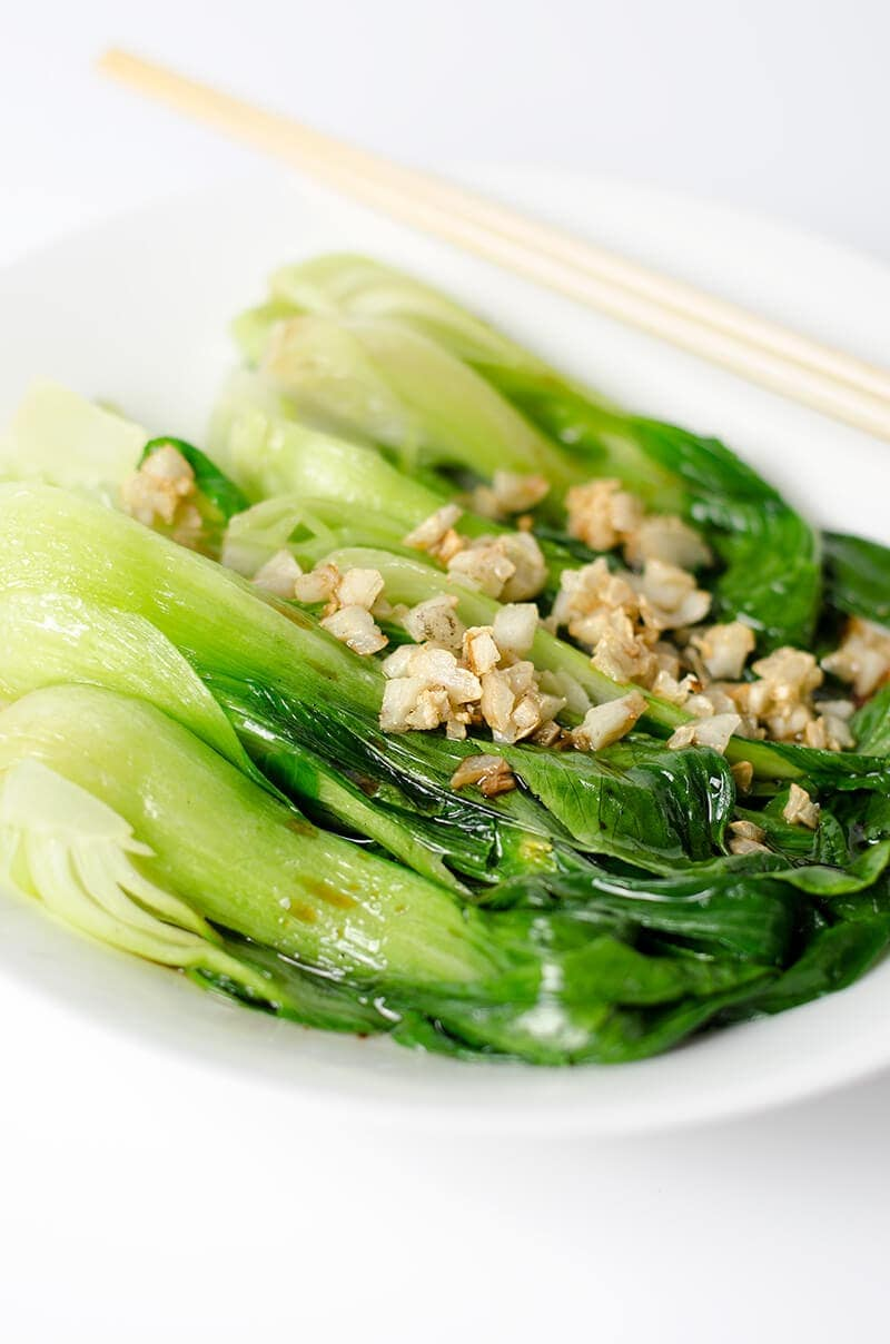 Chinese Style Green Vegetables | Omnivore's Cookbook