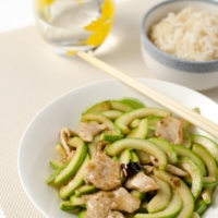 Zucchini and Pork Stir-Fry | Omnivore's Cookbook