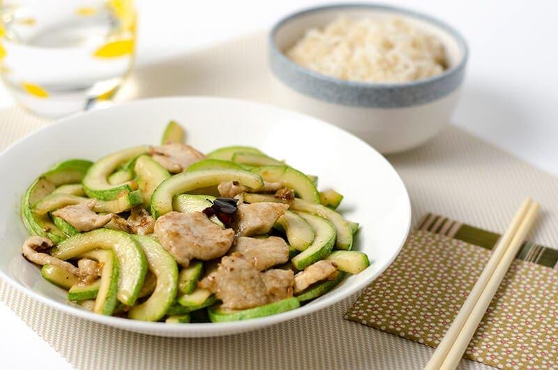 Zucchini and Pork Stir-Fry | Omnivore's Cookbook..