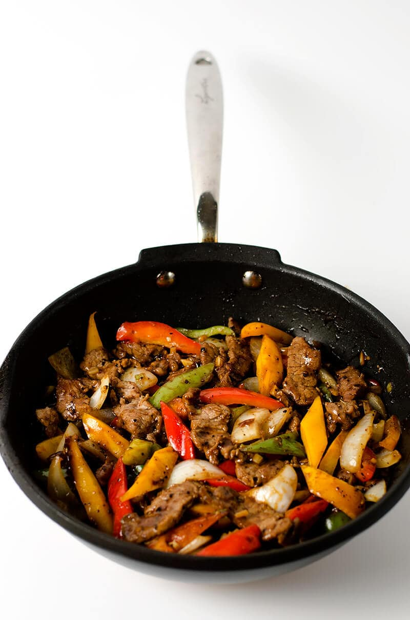 Black Pepper Steak | Omnivore's Cookbook