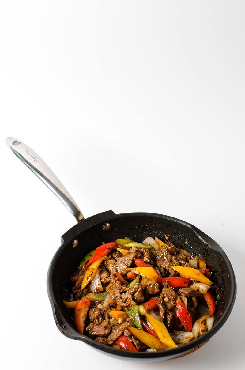 Black Pepper Steak | Omnivore's Cookbook