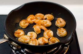 walnut shrimp cup cooking process | Omnivore's Cookbook