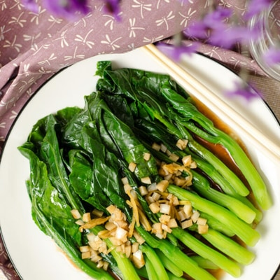 Chinese Broccoli with Oyster Sauce | Omnivore's Cookbook