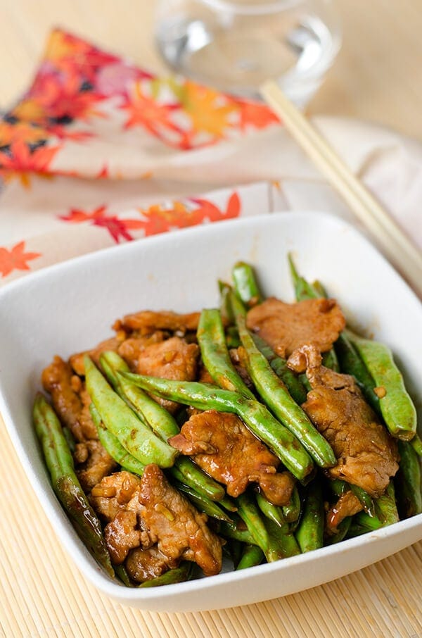 Curry Pork and Green Beans Stir Fry | Omnivore's Cookbook