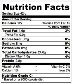 Nutrition Facts for STICKY RICE CAKES WITH RED BEAN PASTE {GLUTEN FREE}