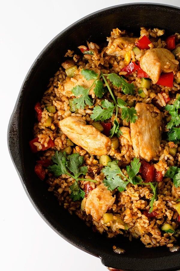 chicken fried rice recipe cornstarch