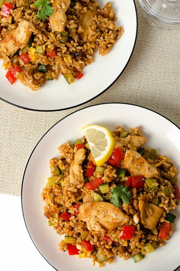 Thai Curry Chicken Fried Rice | Omnivore's Cookbook